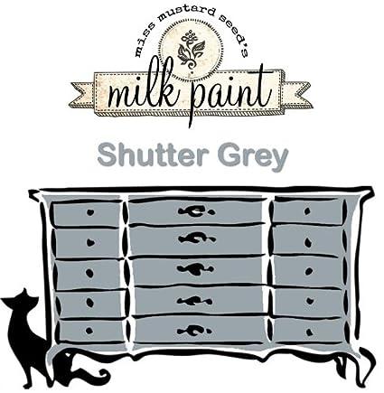 Miss Mustard Seeds Milk Paint Shutter Gray 1qt