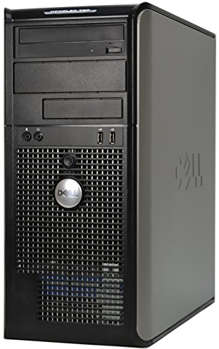 Dell Optiplex 780 Mini Tower Business Desktop Computer PC (Intel Dual-Core 3.06GHz Processor, 4GB DDR3 Memory, 160GB HDD, DVDRW, VGA, DisplayPort, Windows 7 Professional) (Certified Refurbished)