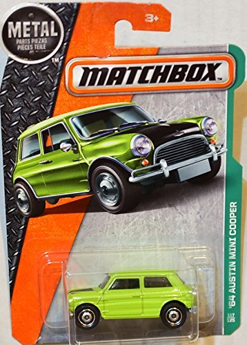 MATCHBOX 2017 METAL PARTS PIEZAS '64 AUSTIN MINI COOPER GREEN 117/125 RARE