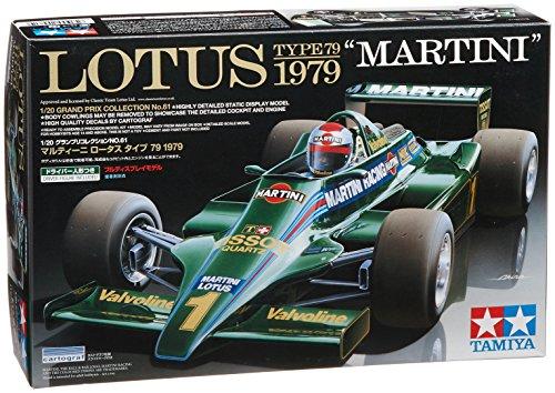 Lotus Model Car - Tamiya 20061 1/20 Lotus Type 79 1979 Martini