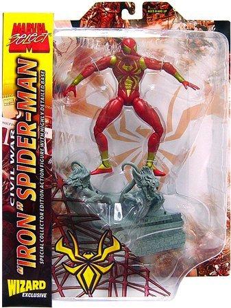 Civil War Spiderman Costume (ToyFare Exclusive Civil War 'Iron' Spider-Man Action Figure)
