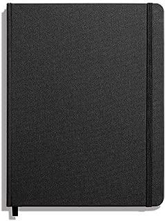 product image for Shinola Journal, HardLinen, Grid, Jet Black (7x9)