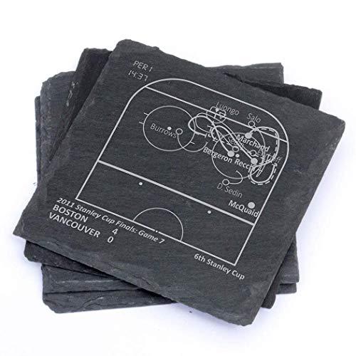 Greatest Bruins Plays - Slate Coasters (Set of 4) ()