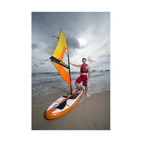 Zray 37337 - Tavola W2 Stand Up Paddle Gonfiabile SUP, 320x81x15 cm 4 spesavip