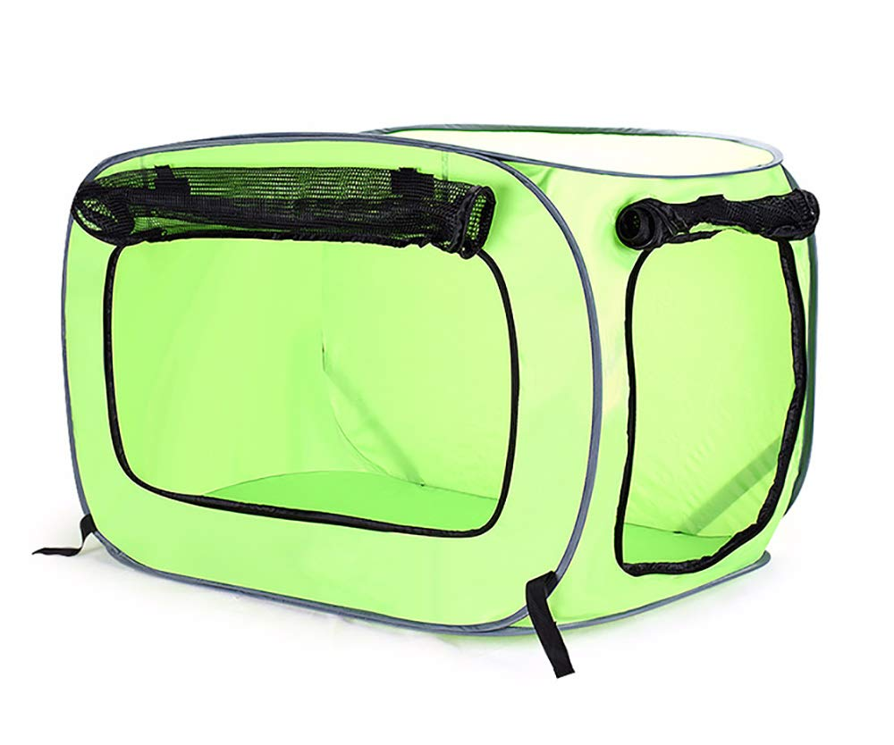Green Large Green Large Pet Portable Travel Folding Pet Cage 600d Oxford Cloth Cat Dog Sleeping Mat Outdoor Pet Dog, Cat