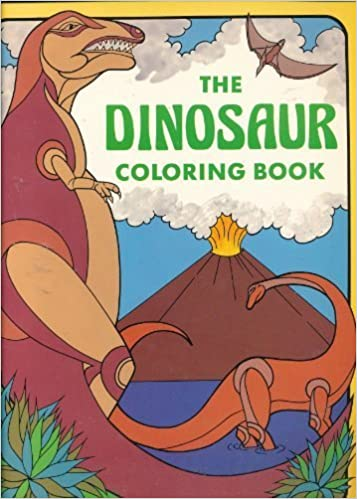 Amazon Com The Dinosaur Coloring Book Troubadour 9780843117080 Tong Winston Books