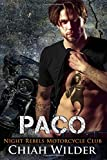 PACO: Night Rebels Motorcycle Club (Night Rebels MC Romance) (Volume 5)