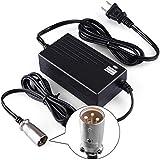 LotFancy 36V 1.5A Battery Charger for Razor MX500, MX650, GT GT750, IZIP I600, I750, I1000, Mongoose M750, X-Treme X-600…