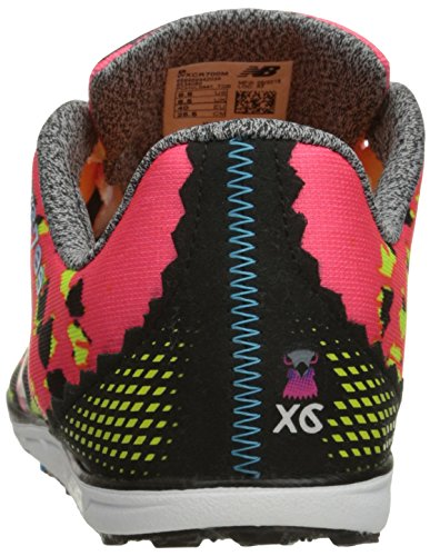 New Balance Women's 700v4 Track Spike Running Shoe, Pink/Black, 6 B US
