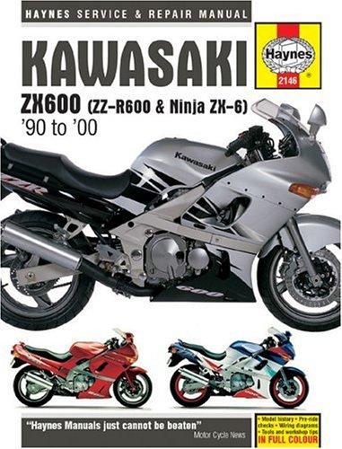 Kawasaki ZX600 ZZ-R600 and Ninja ZX-6 Service and Repair ...