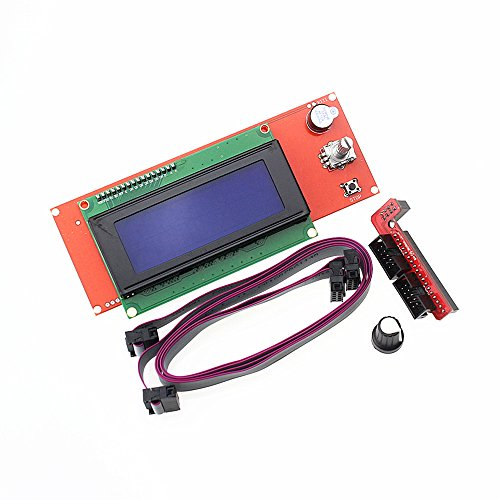 HESAI 3D Printer Kit Smart Parts RAMPS 1.4 Controller Control Panel LCD 2004 Module Display Monitor Motherboard Blue Screen by HESAI
