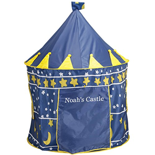 Miles Kimball Personalized Children's Tent (Blue) by Miles Kimball