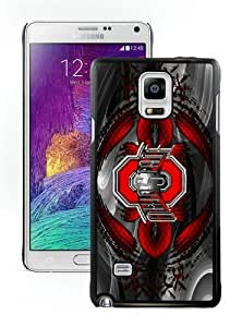 Hot Sale Samsung Galaxy Note 4 Screen Case ,Ohio State University(OSU) Buckeyes Black Samsung Note 4 Cover Unique And Popular Designed Phone Case