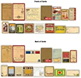 Ephemera Assorted Sizes 15/Pkg-Gypsy