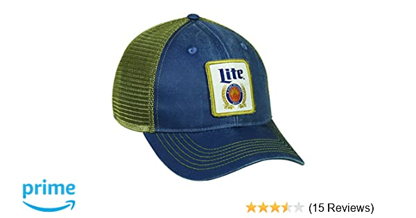 1e0bbd31 Amazon.com : Outdoor Cap Miller Lite Mesh Back Cap : Sports & Outdoors