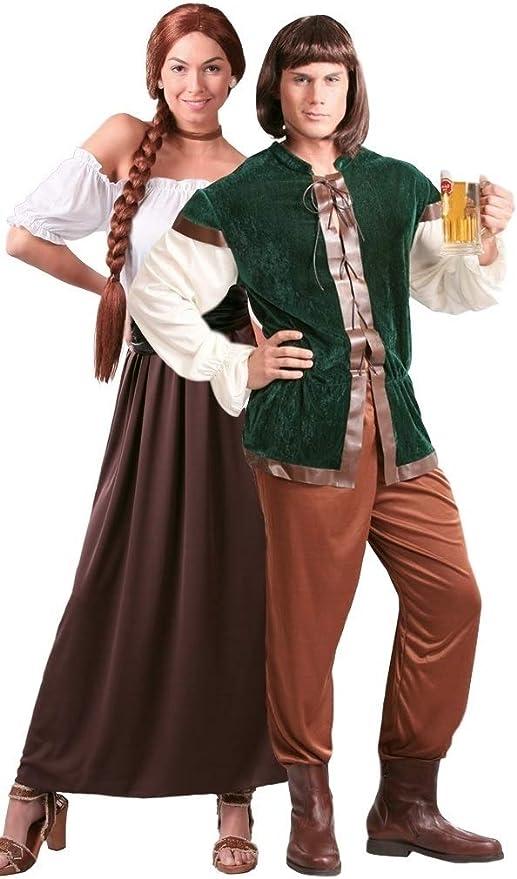 Fancy Me Parejas Mujer Y Hombre Posadero Medieval Propietario ...