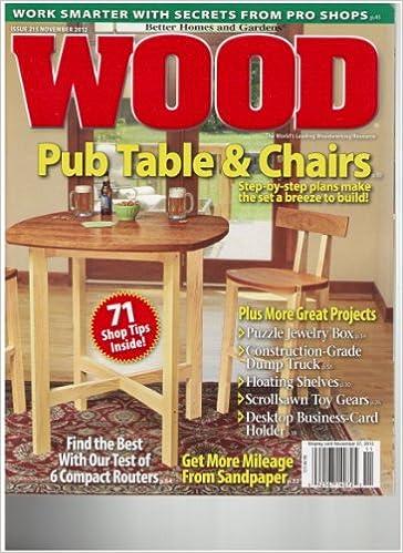 Wood magazine november 2012 amazon books greentooth Gallery