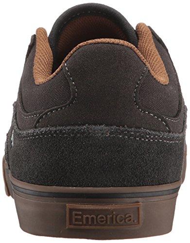 Grey Vulc Homme Low Dark The de Chaussures Emerica Hsu Skateboard zTfwTqx4