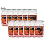 Citi-Lites 18 Ounce Apothecary Jar-Tropical Breeze (Pack of 12)