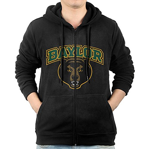 GGDDAA Mens Baylor Bears Hiphop Cool Hoodie Hoodies Casual Style S Black (Marilyn Monroe Costume For Kids)