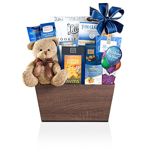 Wine Country Gift Baskets Bear Hugs Thinking Of You, 3.5 Pound (Wine Country Baskets)