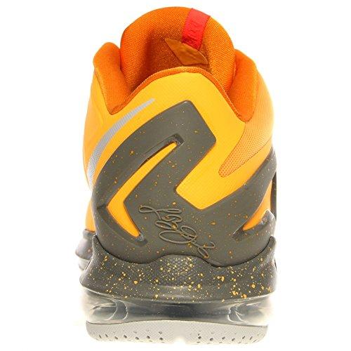 Nike Air Max Lebron Xi 11 Lage Mannen Basketbaltennisschoenen Nieuwe Atomaire Mango / Kumquat / Med Base Grijs / Lt Base Grijs