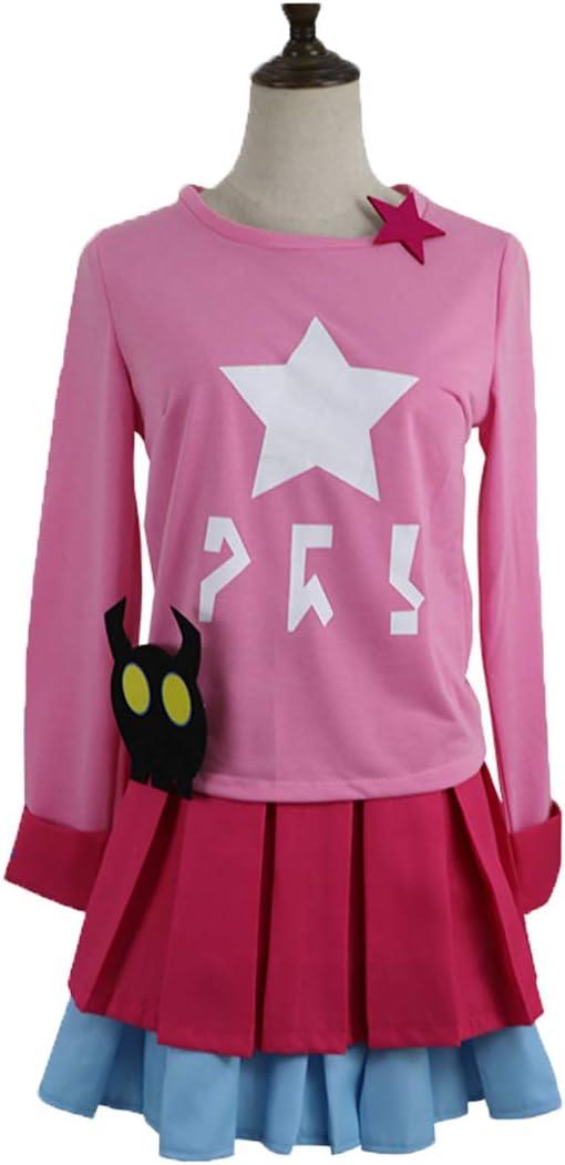 YKJ Anime Cosplay Ropa Casual Diaria Falda Corta Mujer Anime Juego ...