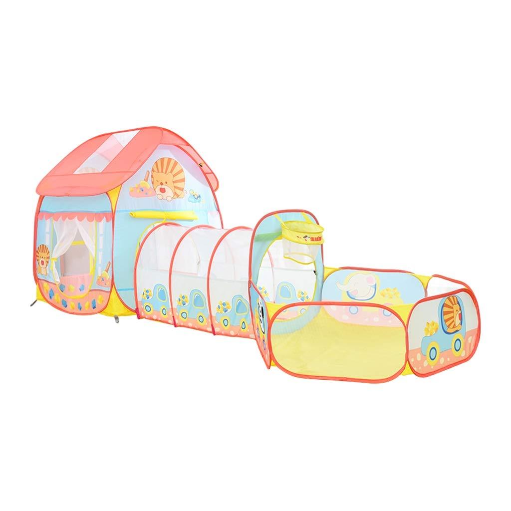 【良好品】 ベビーサークルプレイヤード ゲームのテント子供の遊び場 : 屋内子供の這うゲーム家 家の子供のおもちゃトンネルチューブ折りたたみ 最高の贈り物 ベビーサークルプレイヤード (Color Pink : Size Pink, Size : 285*105*105cm) 285*105*105cm Pink B07M67GLF5, クメジマチョウ:44c0155e --- a0267596.xsph.ru