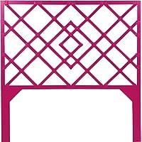 David Francis Furniture Darien Headboard, Queen, Hisbiscus Pink