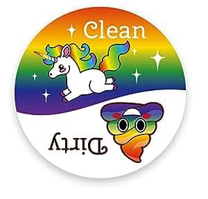 Amazon Com Dishwasher Emoji Magnet Clean Dirty 3 Inch