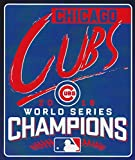 "Chicago Cubs 2016 World Series Champions 50"" x 60"" Silk Touch Throw"