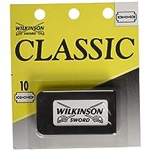 Wilkinson Sword Classic Double Edge Razor Blades, Pack of 10 Blades