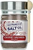 Cherrywood Smoked Sea Salt - 8 oz. Chef's Jar by San Francisco Salt Company