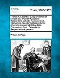 Francis A. Lazenby, Suing on Behalf of Himself etc. , Plaintiff-Appellant-Respondent, John B. Ramsey, et Al. , Intervenors-Appellants-Respondents, Again, William H. Page, 1275114202