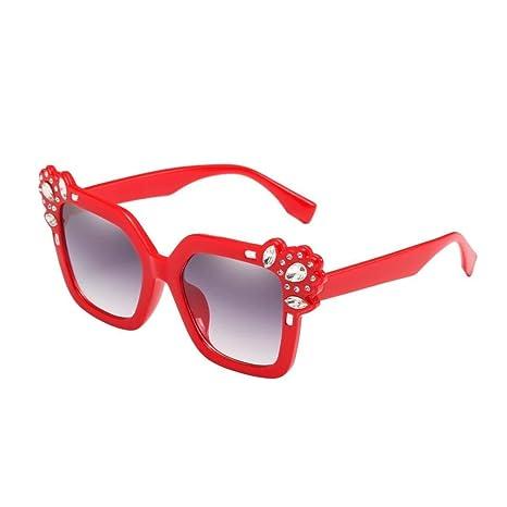 Qiusa Gafas polarizadas Gafas de sol para hombres Mujeres Gafas de seguridad Protección UV Gafas Retro