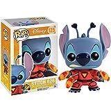 Funko Stitch 626: Lilo & Stitch x POP! Disney Vinyl Figure & 1 POP! Compatible PET Plastic Graphical Protector Bundle [#125 / 04671 - B]