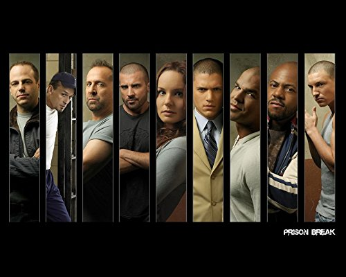Click for larger image of 18x14 inch Prison Break Silk Poster 5GS7-51E