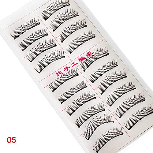 4833d8f57c9 10 Pairs Eye Makeup Tools Thick Multilayer Natural Long 3D Faux Mink Hair  Eye Lashes Extension