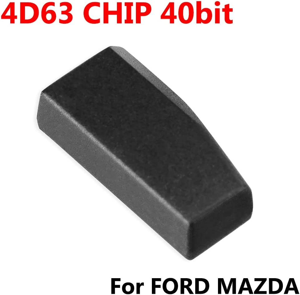 Smart Key Chip,4D63 40 Bit Car Smart Key Chip Transponder Chip Replacement Accessory Fit for Ford Car Accessories