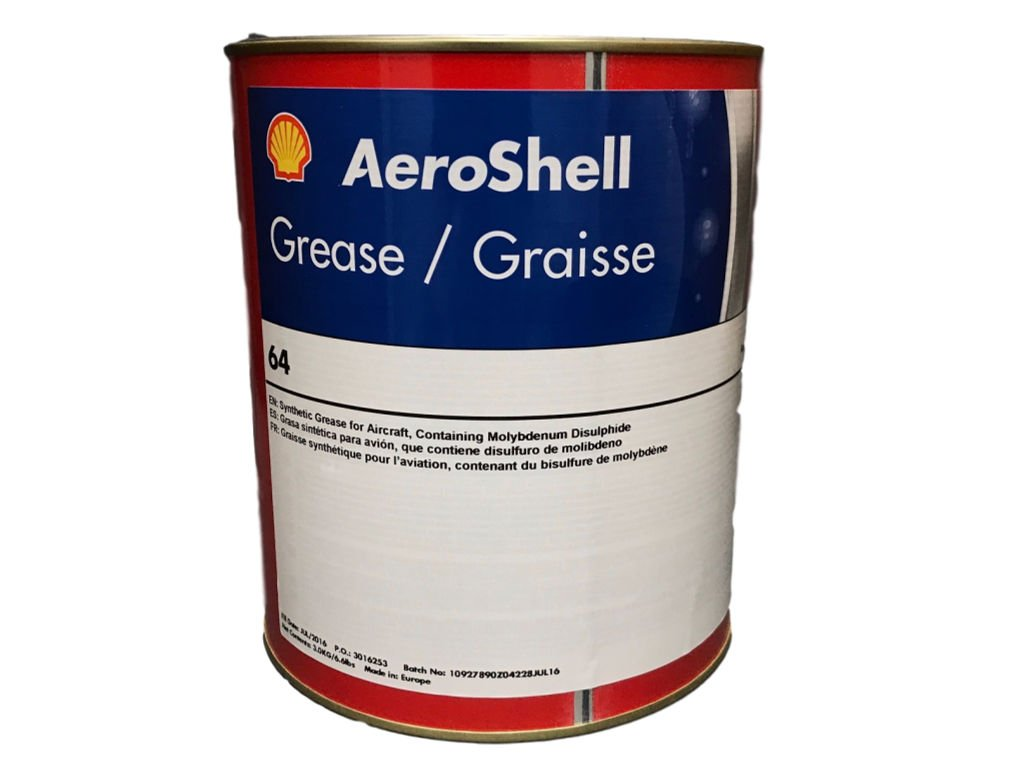 AeroShell 33MS / 64 Grease 6LB MIL-21164D by AeroShell