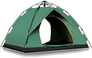 KCJMM Tentes de Plage, tentes de Camping, tentes de Loisirs en Plein air pour 3-4 Personnes, tentes de Printemps, tentes de Protection UV, adaptées à la Plage, au Camping, à la pêche