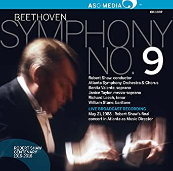 Beethoven: Symphony No  9 in D Minor, Op  125 (Live) by Robert Shaw