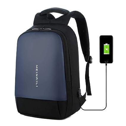 AOLVO Mochila Ordenador USB Port Multifuncional, Bolsa, Numerique (Tejido Oxford Gran Capacidad para