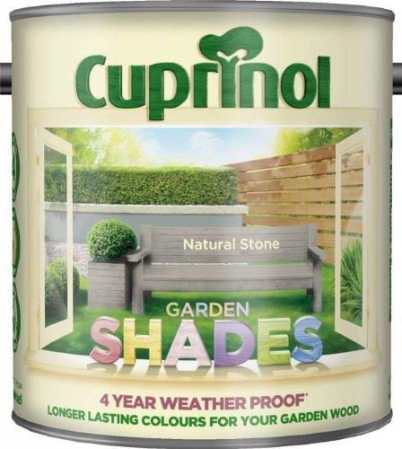 Cuprinol Garden Shades - Natural Stone (2.5L) by Cuprinol (Cuprinol Natural)