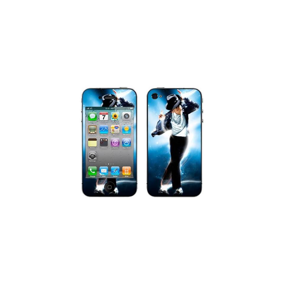 Meestick Michael Jackson Vinyl Adhesive Decal Skin for iPhone 4S