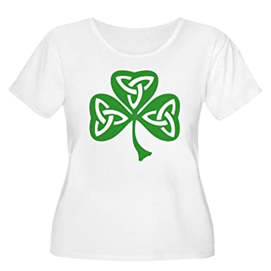 ee6cad07c8fc Image Unavailable. Image not available for. Color: CafePress - St Patrick's  Day Women's Plus Size ...