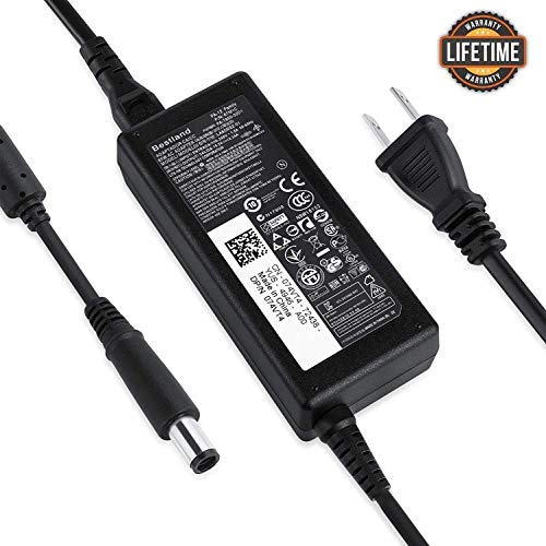 【UL Listed】Bestland Compatible With Dell 65W 19.5V 3.34A AC Adapter Battery Power Charger PA-12 Latitude3330 3340 3440 3450 3540 Notebook Computer Power Cord Spare Replacement Adapter Plug 7.4 x 5
