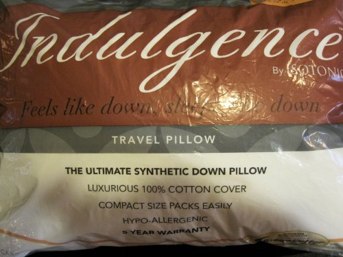 "Indulgence Travel Pillow by Isotonic 16""x12"""