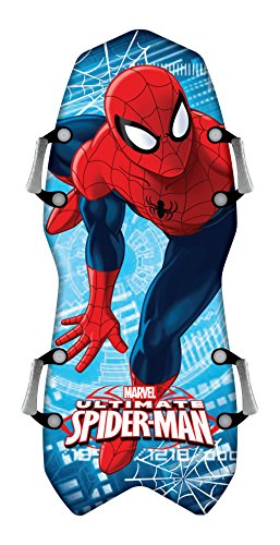 "Snow Sliders Body Glove 45"" Spiderman Snow Sled"