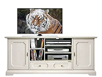 TV-Möbel Hi-fi Heimkino B160 x H67 x T40 cm, Möbel Tv aus ...